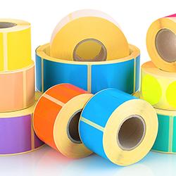 papier folien etiketten