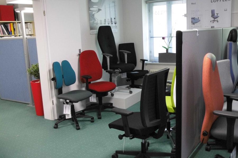 showroom Bürostuhl