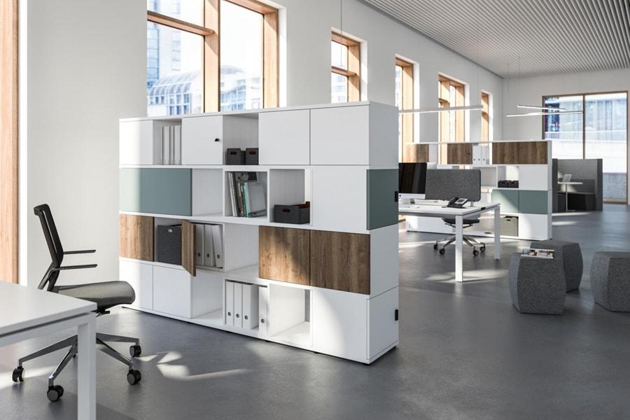 Büro raumtrenner modern
