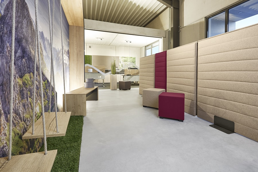 Bürolandschaft akustikelemente