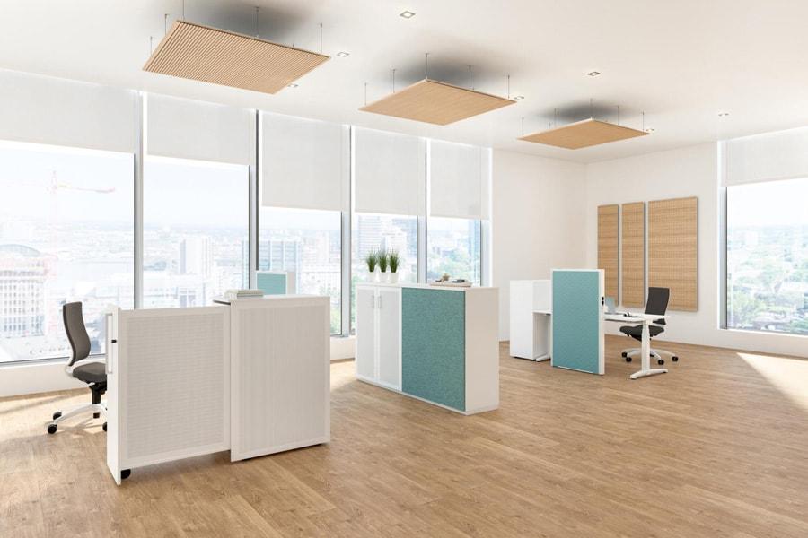 Bürolandschaft einrichtung