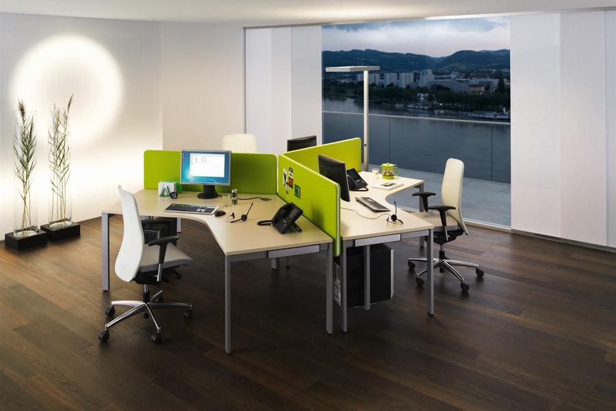 Büromöbel eingerichtet modern