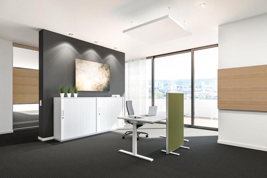 Büroraum einrichtung