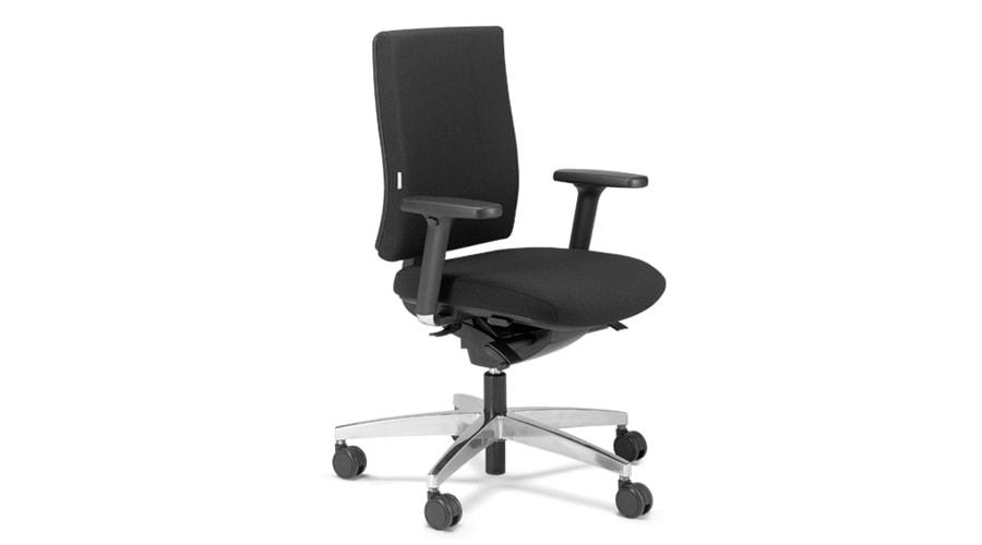 Bürostuhl schwarz Armlehne verstellbar