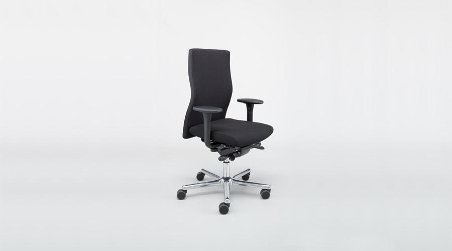 Bürostuhl schwarz höhenverstellbar