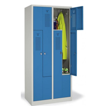 Angebot des Monats: Z-Garderoben-Stahlspinde